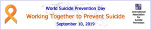 Banner Welttag der Suizidprävention 2019
